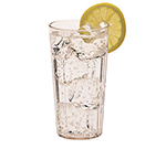 Cambro NT16152 16.4-oz Newport Fluted Tumbler - Clear