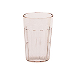 Cambro NT5409 6.4-oz Newport Fluted Tumbler - Blush