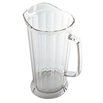 Cambro P64CW135 64-oz Camwear Pitcher - Lip and Pour Spout, Clear