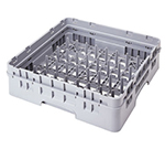 Cambro PR59500151 Camrack 5x9 Peg Rack with Extender - Full-Size, Soft Gray