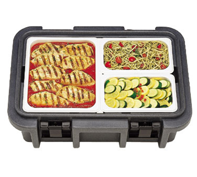 Cambro UPC160194 20-qt Camcarrier Ultra Pan Carrier - (1)Full Size Pan, Granite Sand
