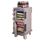 Cambro UPC600191 45-qt Camcart Ultra Pan Carrier - Front Loading, Granite Gray