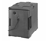Cambro UPCH400110 Camcarrier Hot Ultra Pancarrier - Front Loading, Black 110v