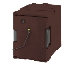 Cambro UPCHW4002131 Camcarrier Heated Pancarrier - Front Loading, Dark Brown 220v