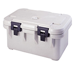 Cambro UPCS180157 24-qt S-Series Pancarrier - Top Loading, Coffee Beige