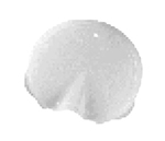 Cambro WW1000LS148 Camliter Replacement Lid with Pour Spout - White