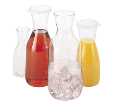 Cambro WW1500CW135 1.5-L Camliter Beverage Decanter - Clear