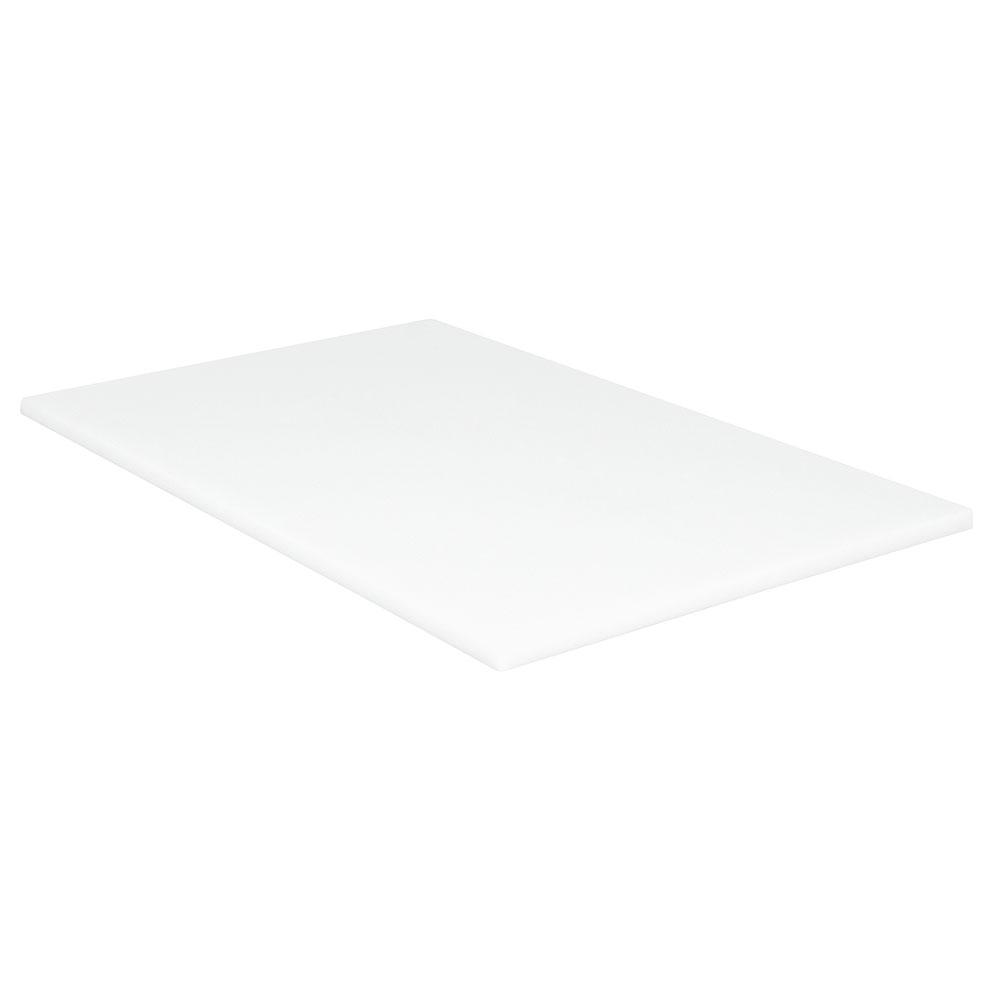 "Cambro CB1220148 Vending Cart Cutting Board - 13-1/8 x 21"" White"