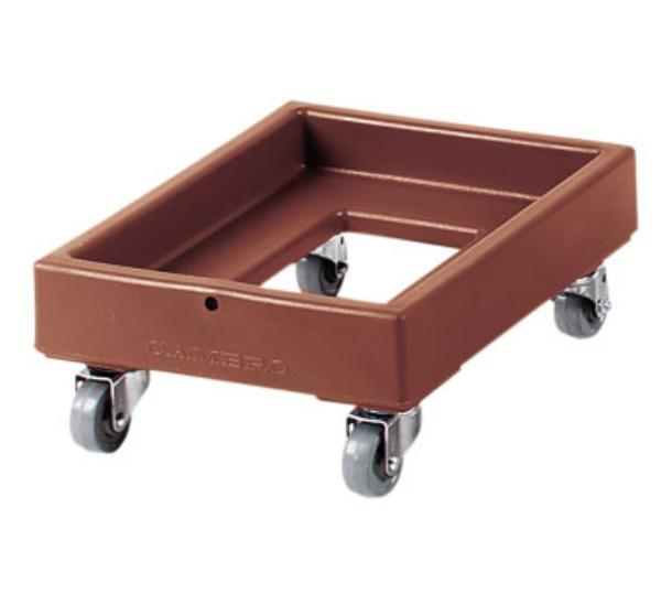 Cambro CD100401 Camdolly 19-5/8 x 28-5/8 in For Camtainers & Camcarriers State Blue Restaurant Supply