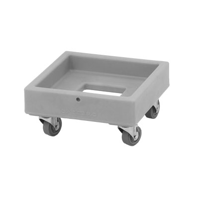 Cambro CD1313157 Camdolly® for Milk Crates w/ 250-lb Capacity, Coffee Beige