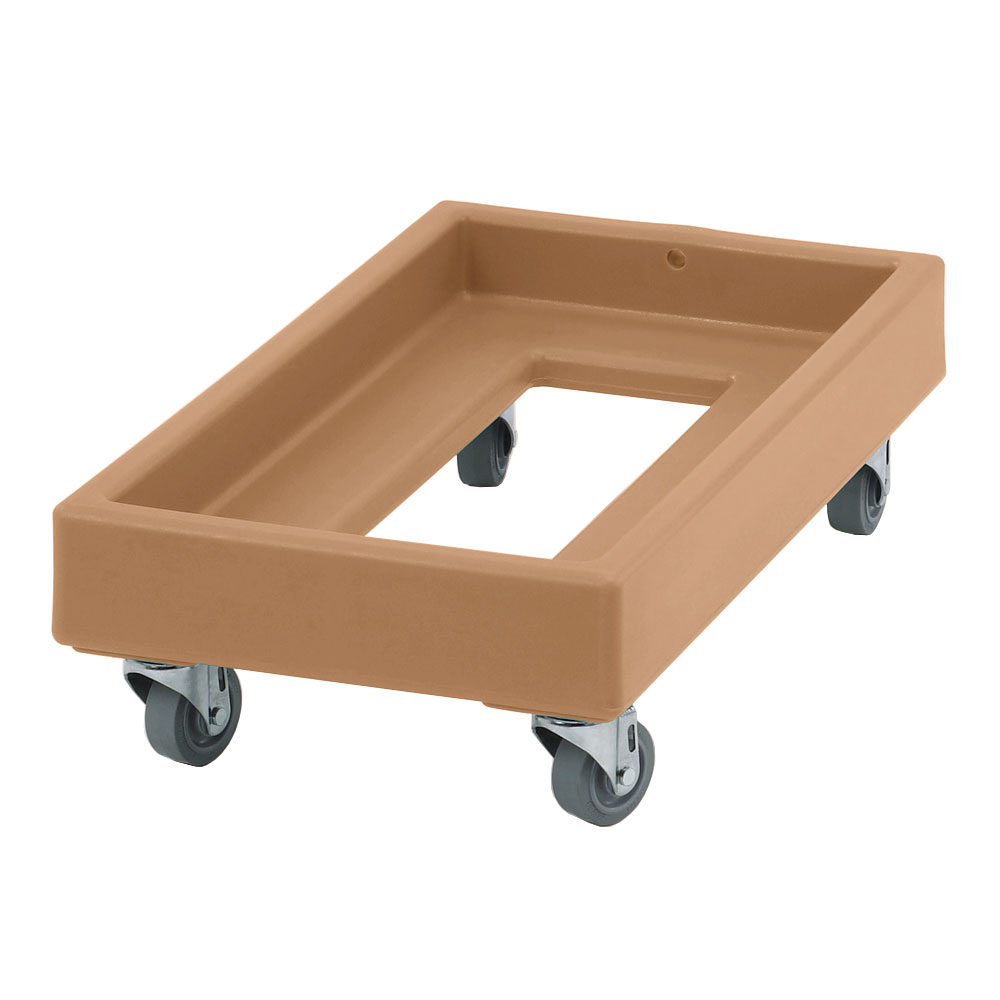 "Cambro CD1327157 Camdolly - 29x16x8-1/4"" 300-lb Capacity, Coffee Beige"