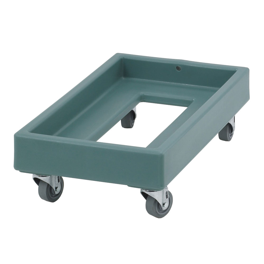Cambro CD1327401 Camdolly® for Milk Crates w/ 300-lb Capacity, Slate Blue