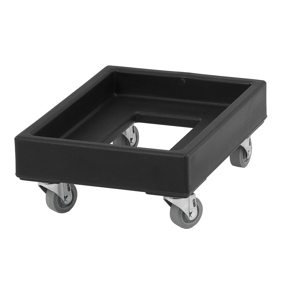 Cambro CD1420110 Camdolly® for Milk Crates w/ 350-lb Capacity, Black