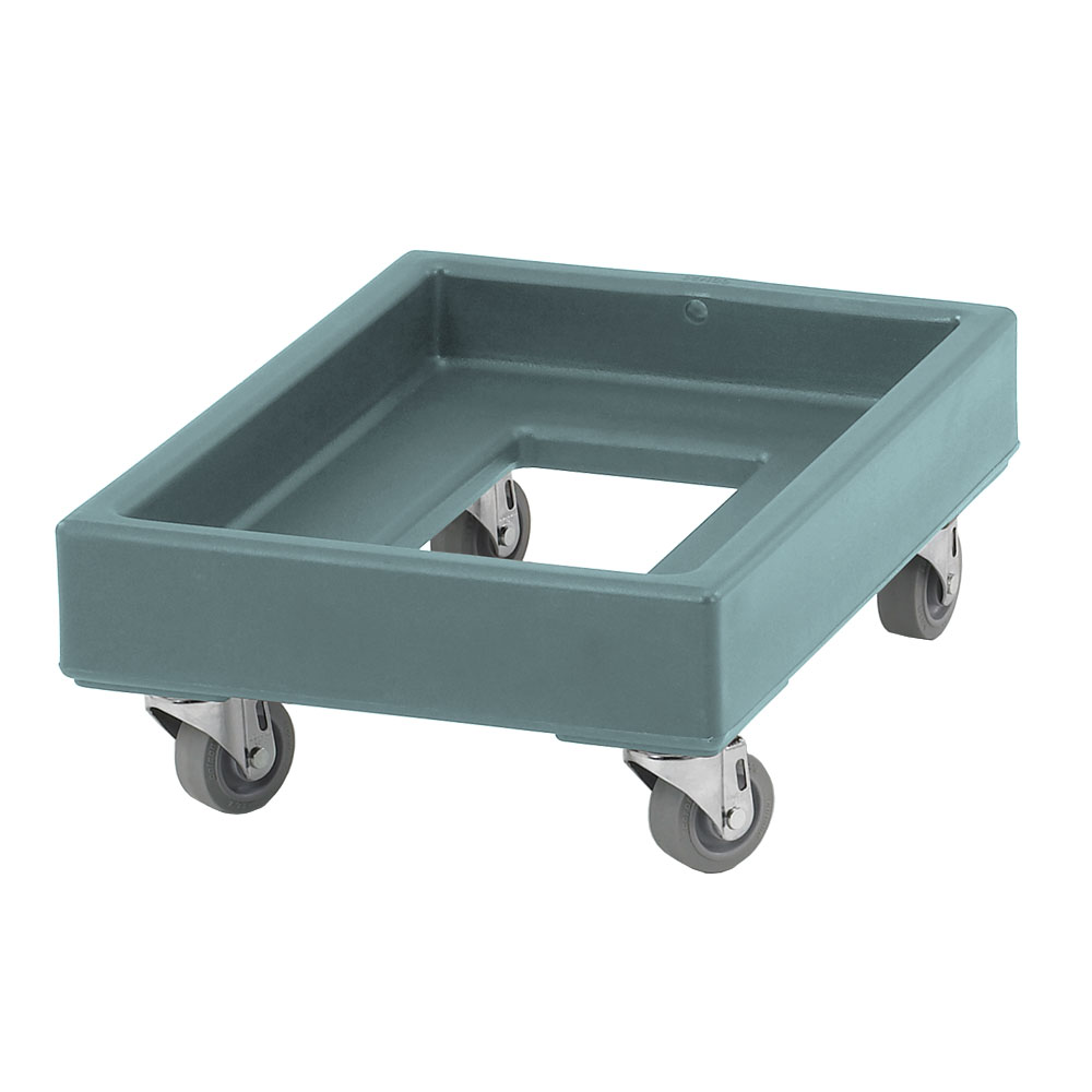 "Cambro CD1420401 Camdolly - 21-3/4x16-1/4x8-21/64"" 350-lb Capacity, Slate Blue"