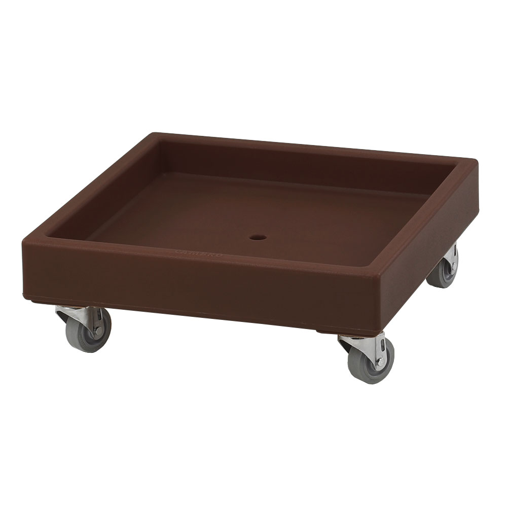 Cambro CD2020131 Camdolly® for Camracks® Dish Racks w/ 300-lb Capacity, Dark Brown