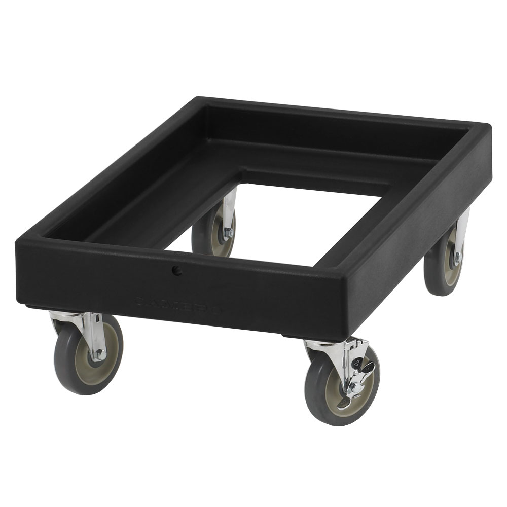 "Cambro CD300110 Camdolly -  25-1/2x19-1/4x10-1/2"" 300-lb Capacity, Black"
