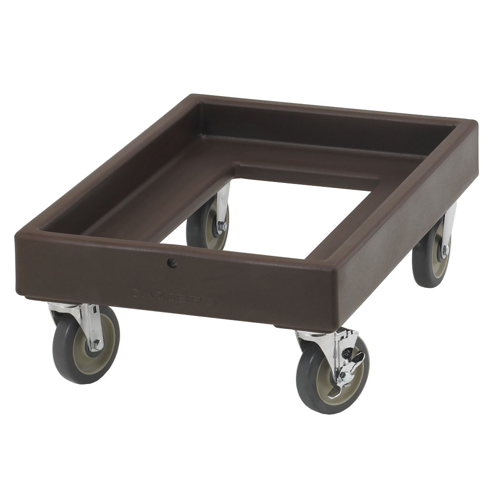 Cambro CD300131 Camdolly® for Camcarriers® w/ 350-lb Capacity, Dark Brown