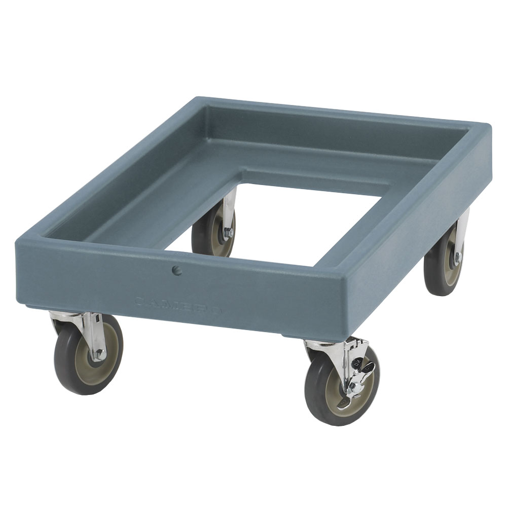 "Cambro CD300401 Camdolly -  25-1/2x19-1/4x10-1/2"" 300-lb Capacity, Slate Blue"