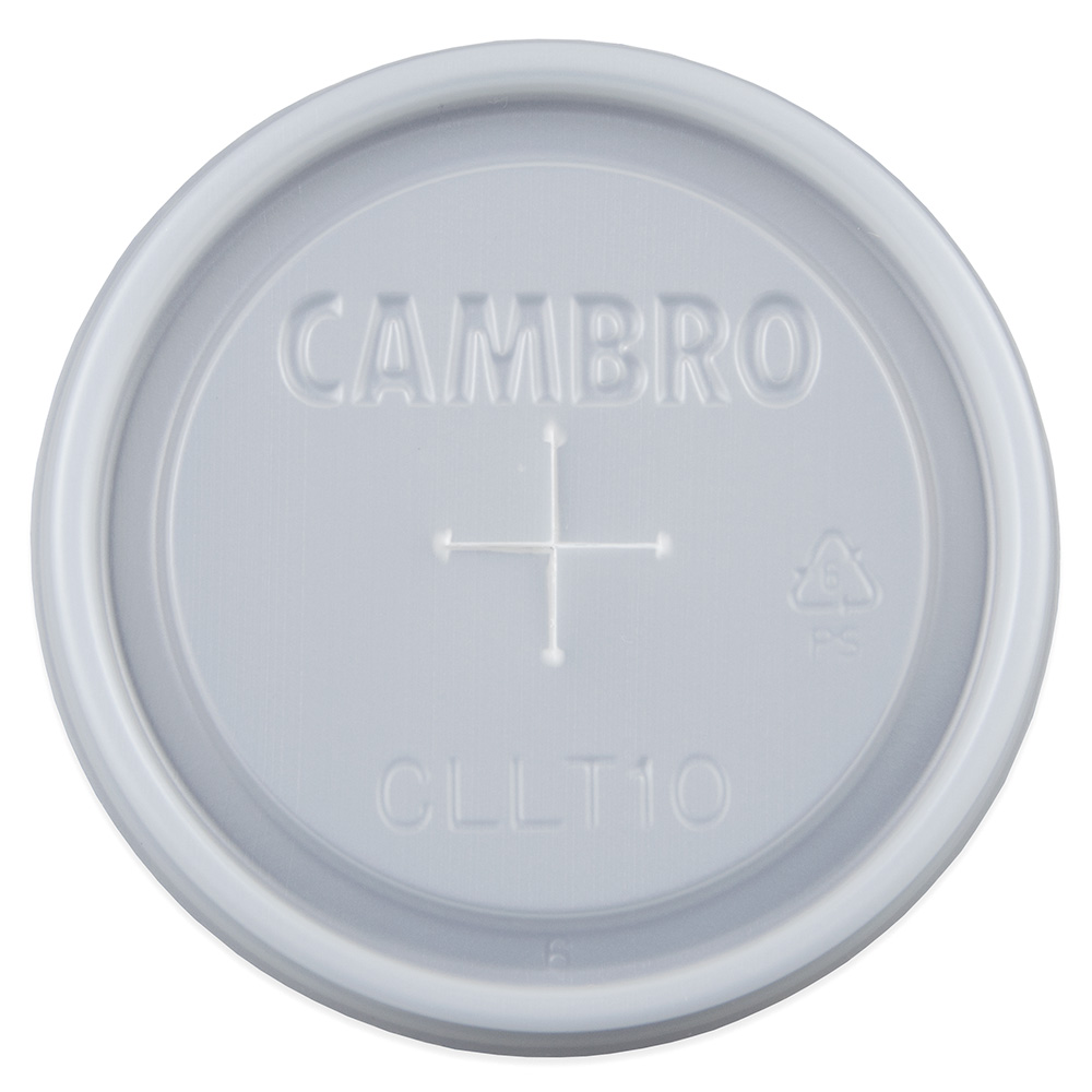 Cambro CLLT10190 Laguna Tumbler Disposable Lids - (LT10)