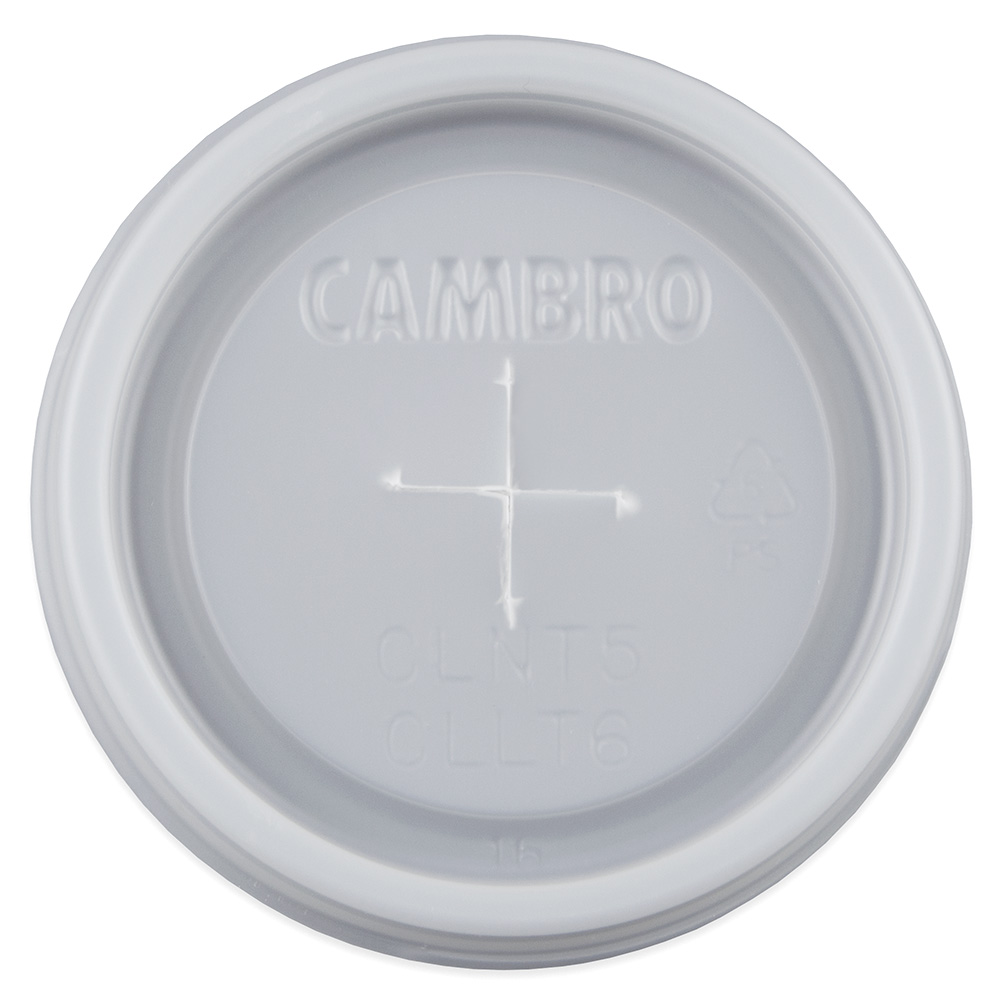 Cambro CLLT6-190 Laguna Tumbler Disposable Lids - (LT6)