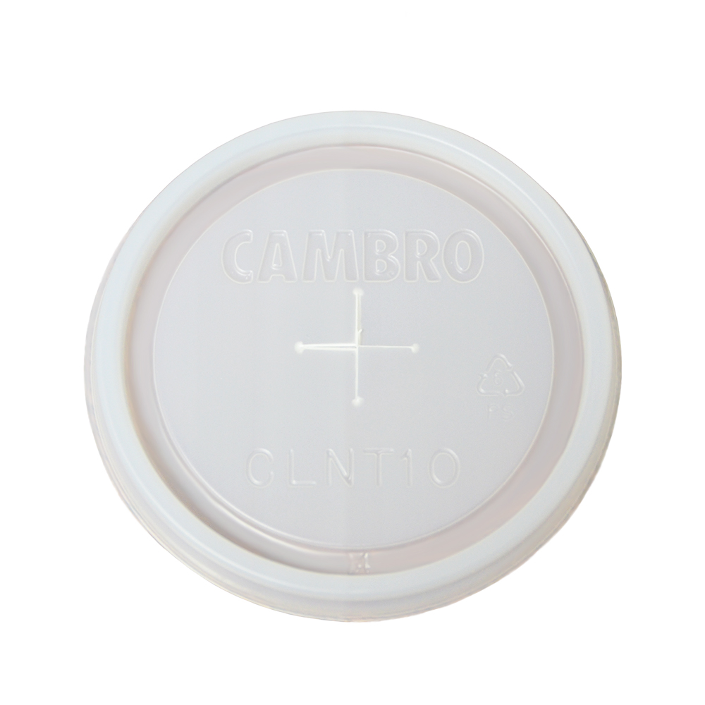 Cambro CLNT10-190 Newport Tumbler Disposable Lids - (NT10)
