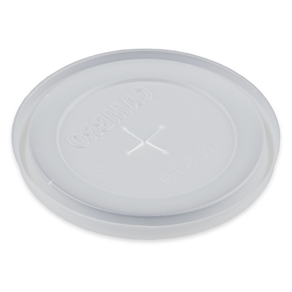 Cambro CLST9190 Disposable Tumbler Lid For Dinex 9-1/2-oz Swirl & Carlisle 9-oz
