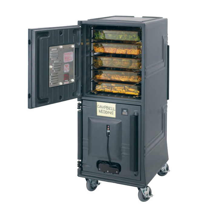 Cambro CMBPH2HD615 Full Height Mobile Heated Cabinet w/ (14) Pan Capacity, 220v/1ph