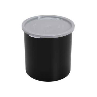 Cambro CP12110 1.2-qt Crock with Lid - Black