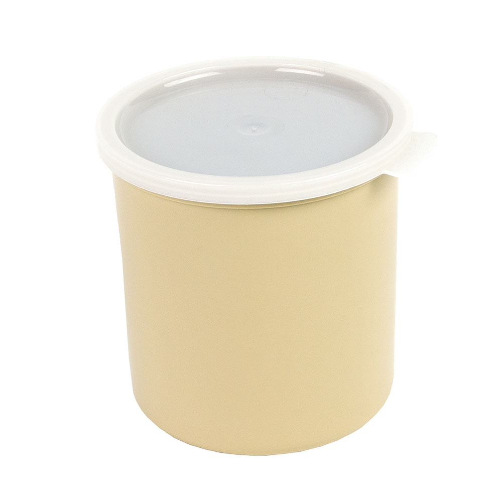 Cambro CP12133 1.2-qt Crock with Lid - Beige