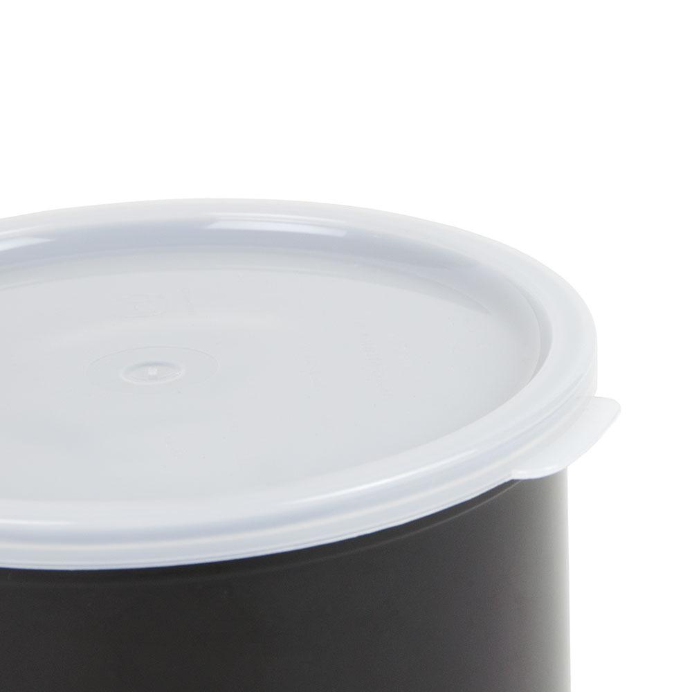 Cambro CP27110 2.7-qt Crock with Lid - Black