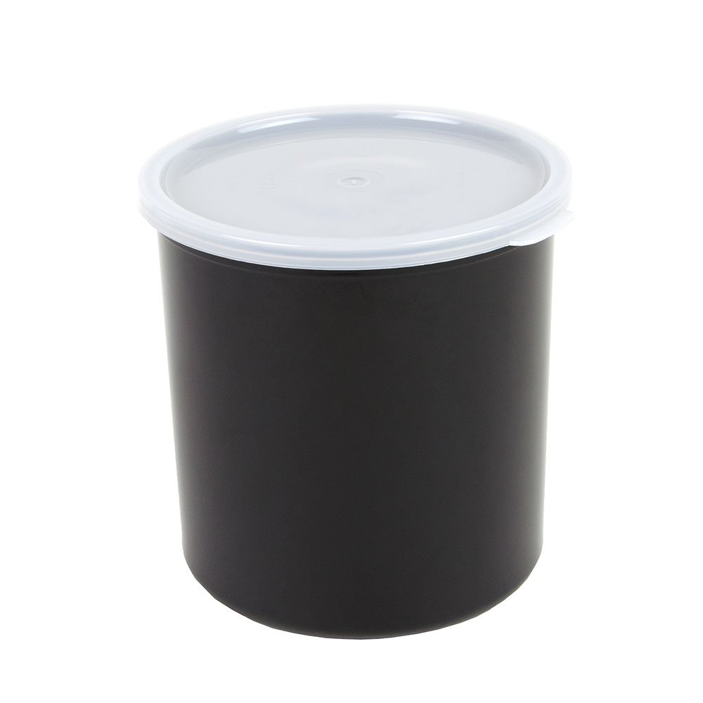 Cambro CP27110 2.7-qt Crock with Lid - Black