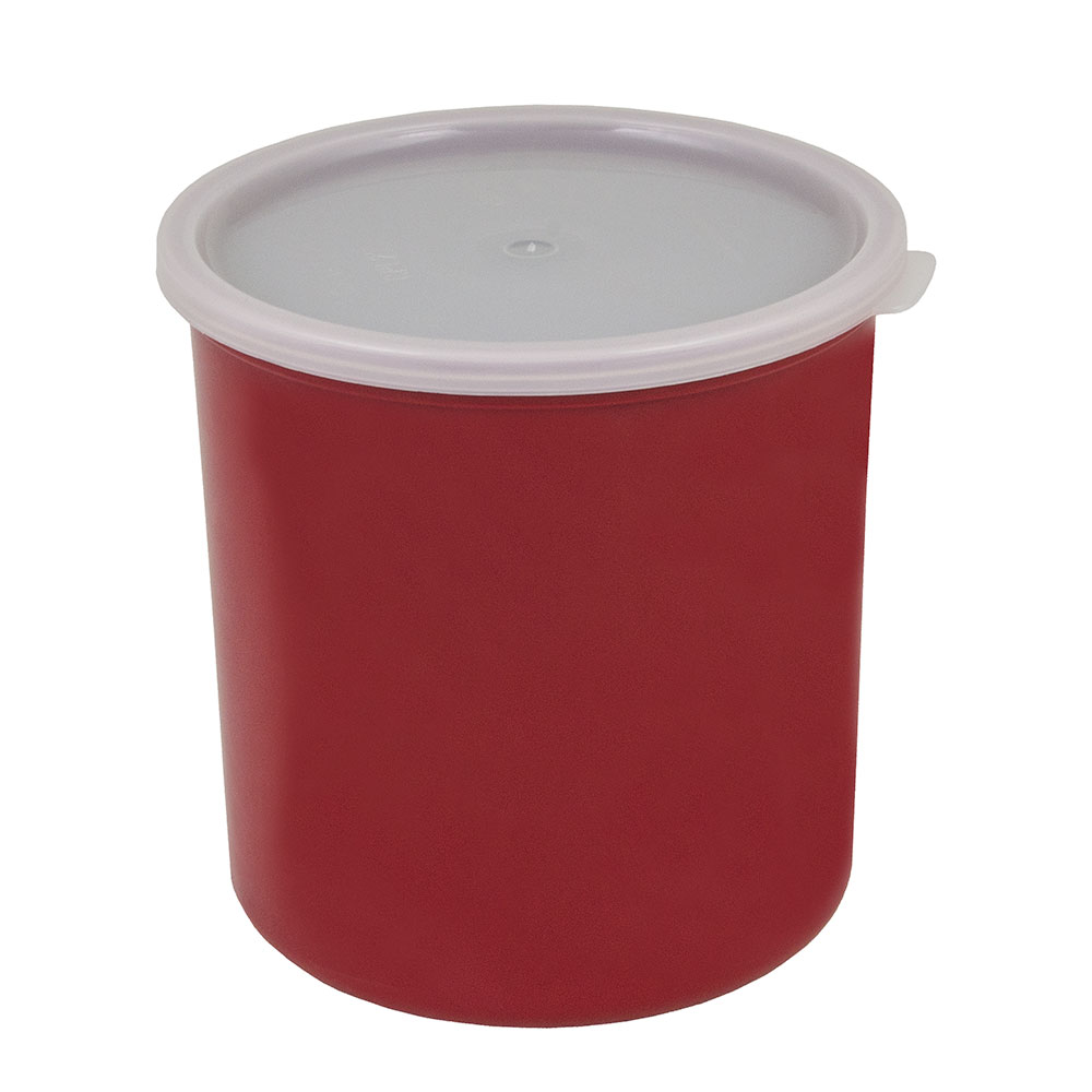 Cambro CP27416 2.7-qt Crock with Lid - Cranberry