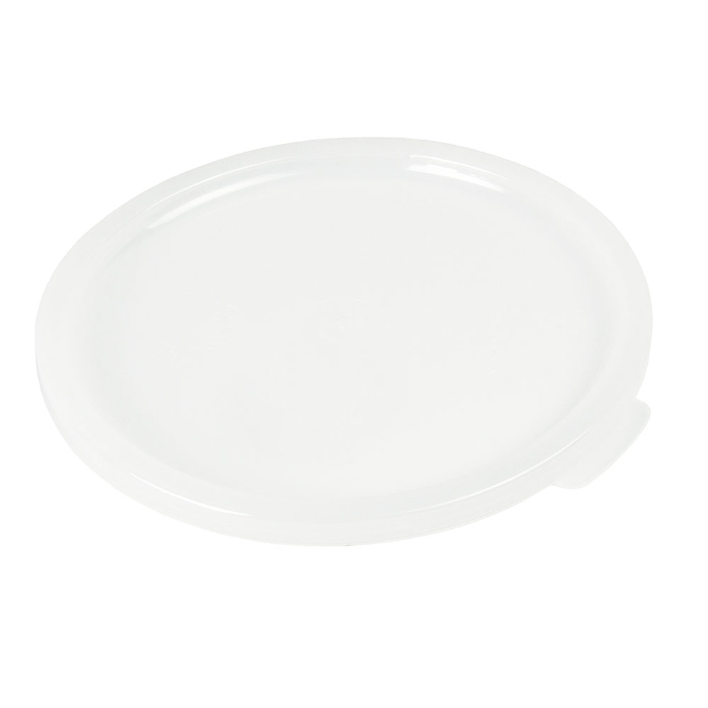 Cambro CPL27148 Snap-On Crock Cover - (CP15/27)White