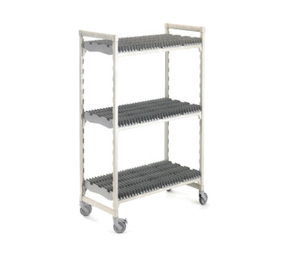 Cambro CSDRC246075PKG 3-Level Mobile Drying Rack for Trays