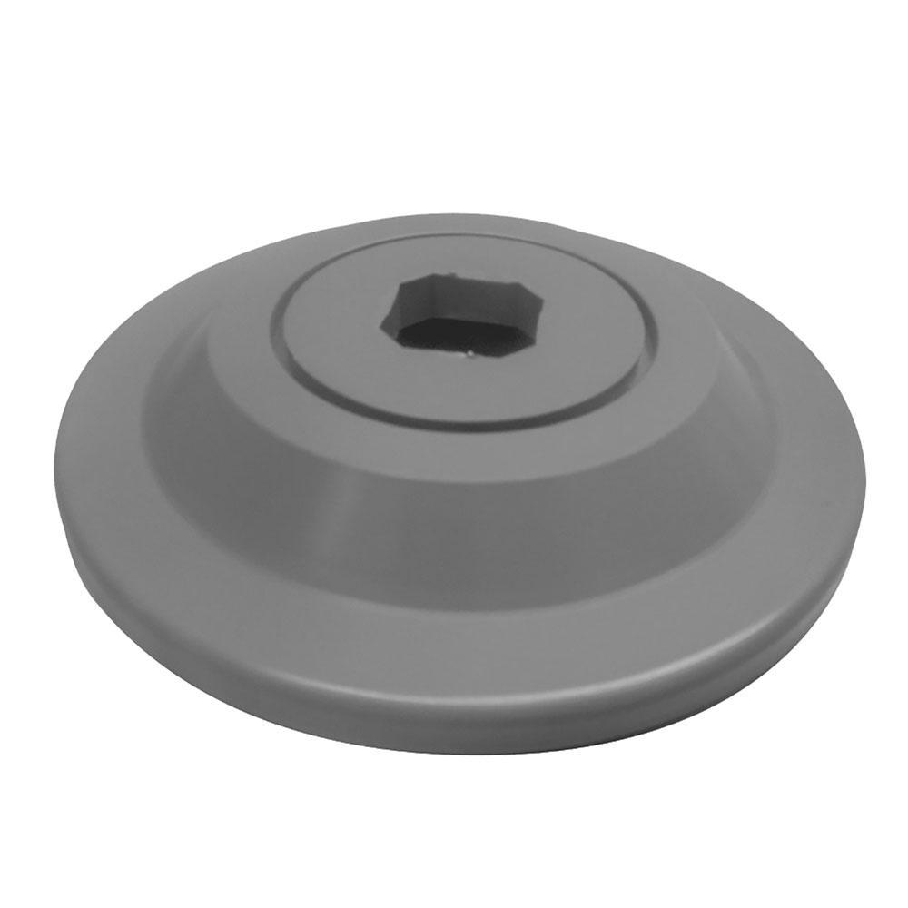 Cambro CSHDDB Camshelving High Density Donut Bumper - Gray