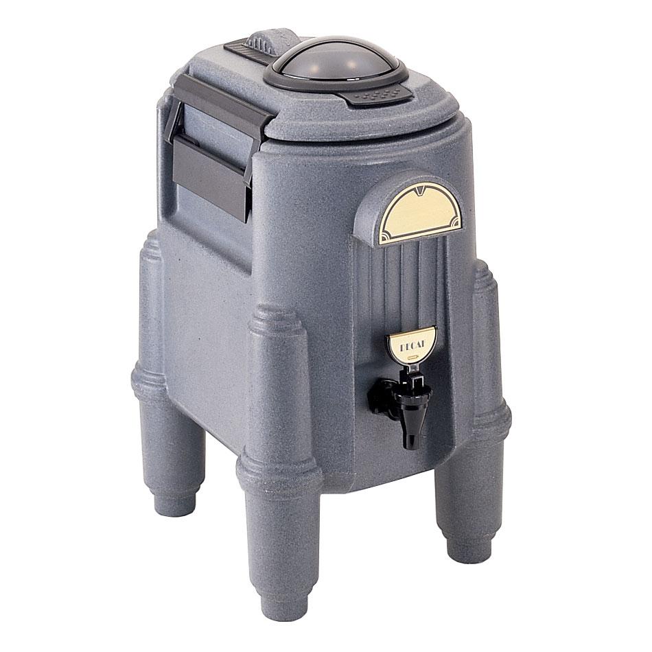 Cambro CSR3-191 3 Gallon Camserver, Hot or Cold, NSF, Granite Gray