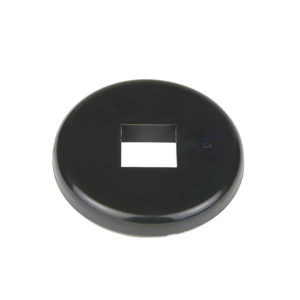 "Cambro CSRDB 3-1/2"" Donut Bumper - Dark Gray"