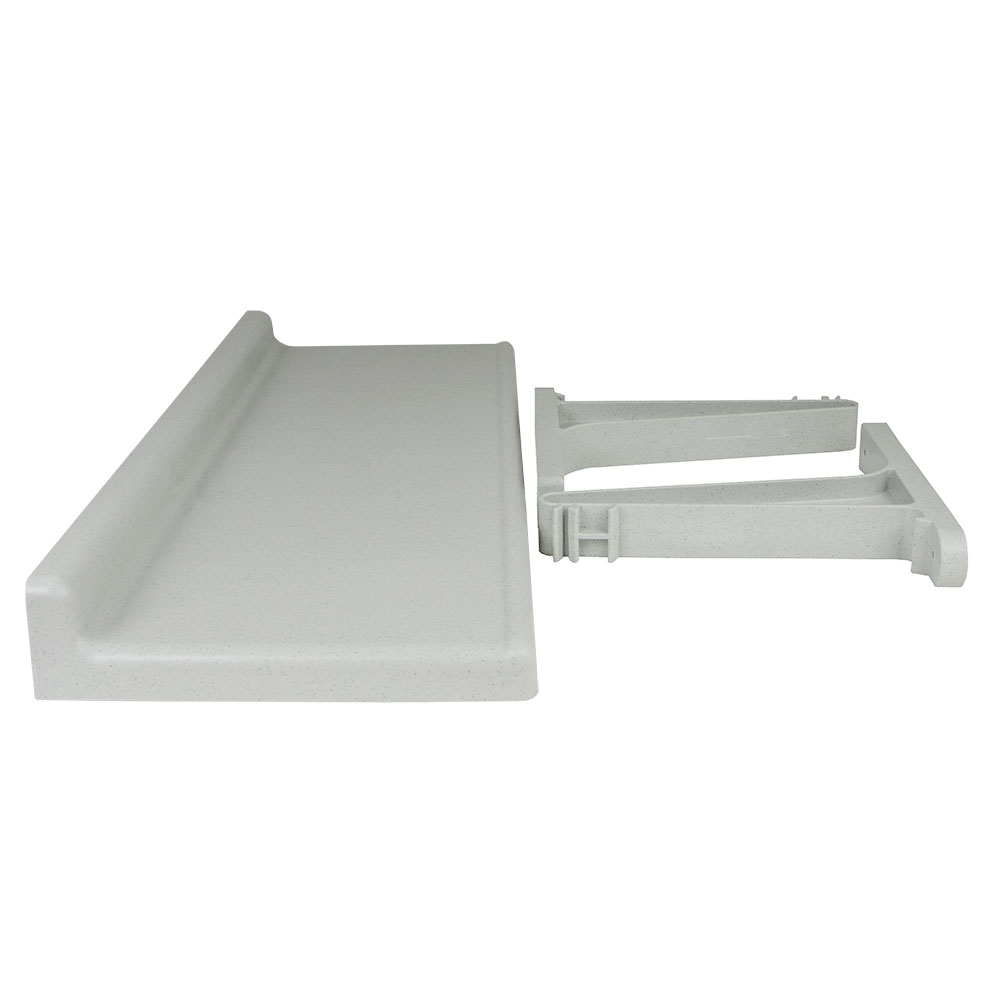 Cambro CSWS1436SK 14 in Dx 36 in W Solid Camshelving Wall Shelf Restaurant Supply