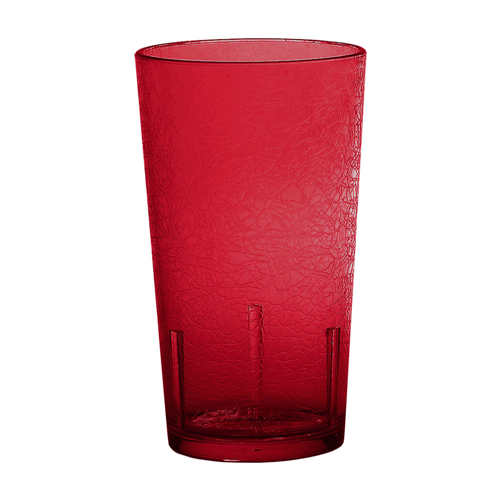 Cambro D12156 12-oz Del Mar Tumbler - Ruby Red