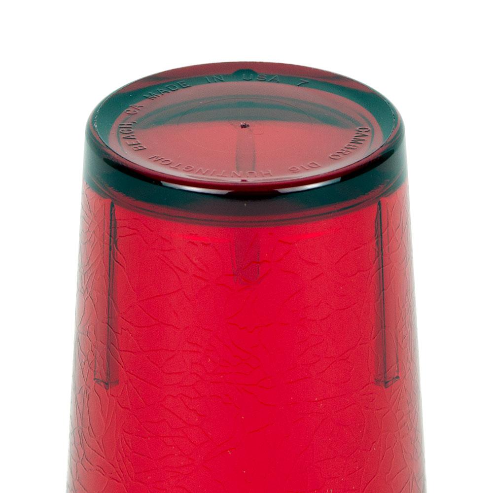 Cambro D16156 16-oz Del Mar Tumbler - Ruby Red