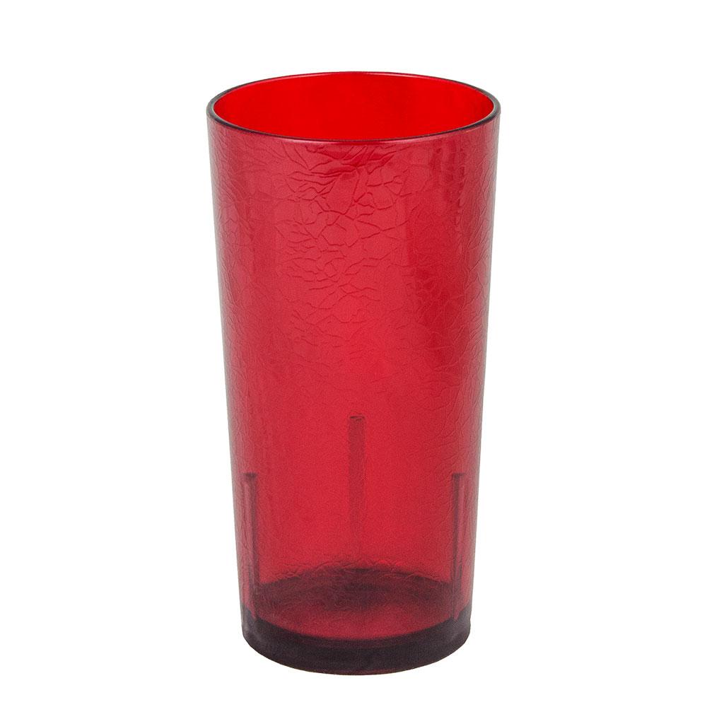 Cambro D24156 24-oz Del Mar Tumbler - Ruby Red