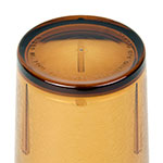 Cambro D24609 24-oz Del Mar Tumbler - Light Amber