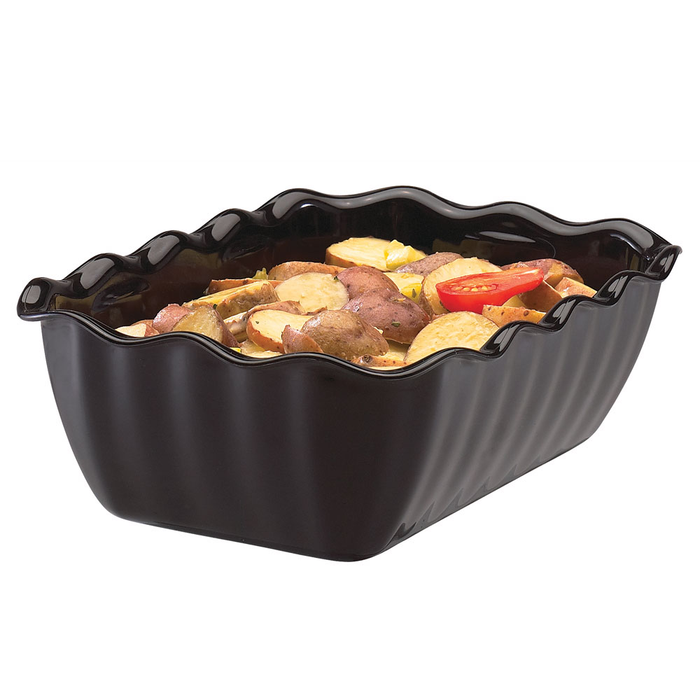 Cambro DC5110 2.2-qt Rectangular Deli Crock - Black