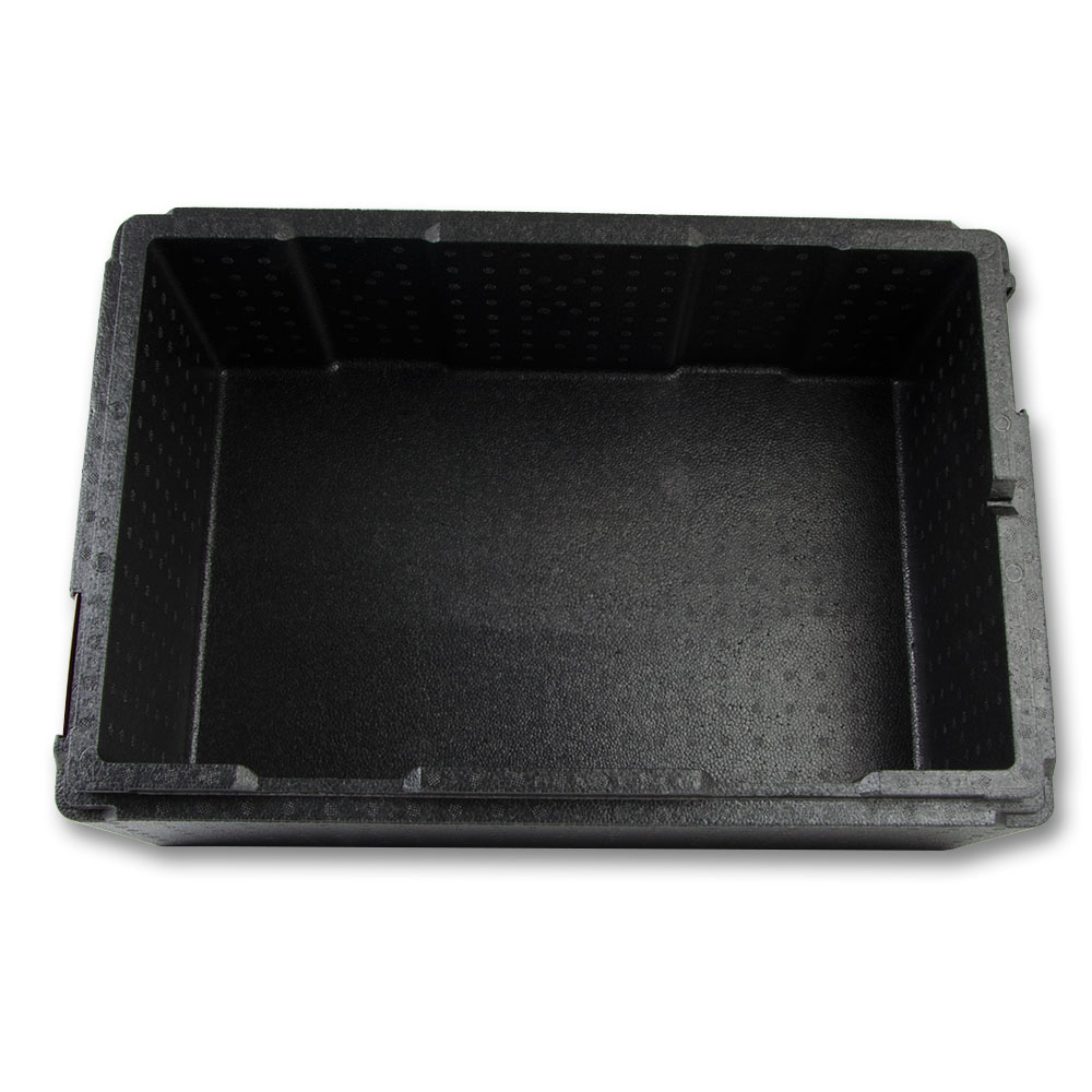 "Cambro EPP160 Cam GoBox™ Top-Loader Food Pan Carrier - 23.62""L x 15.75""W x 10.12""H, Black"