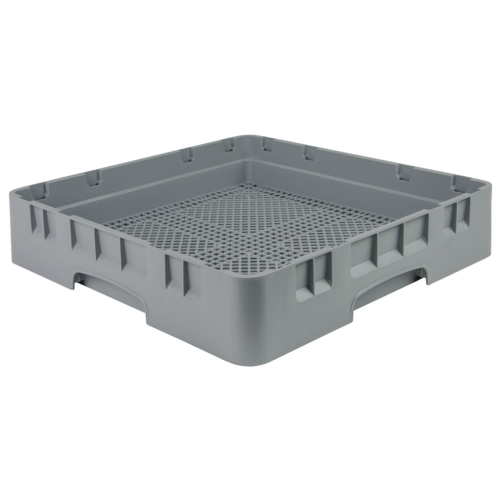 Cambro FR258151 Camrack Flatware Rack - Full Size, Soft Gray