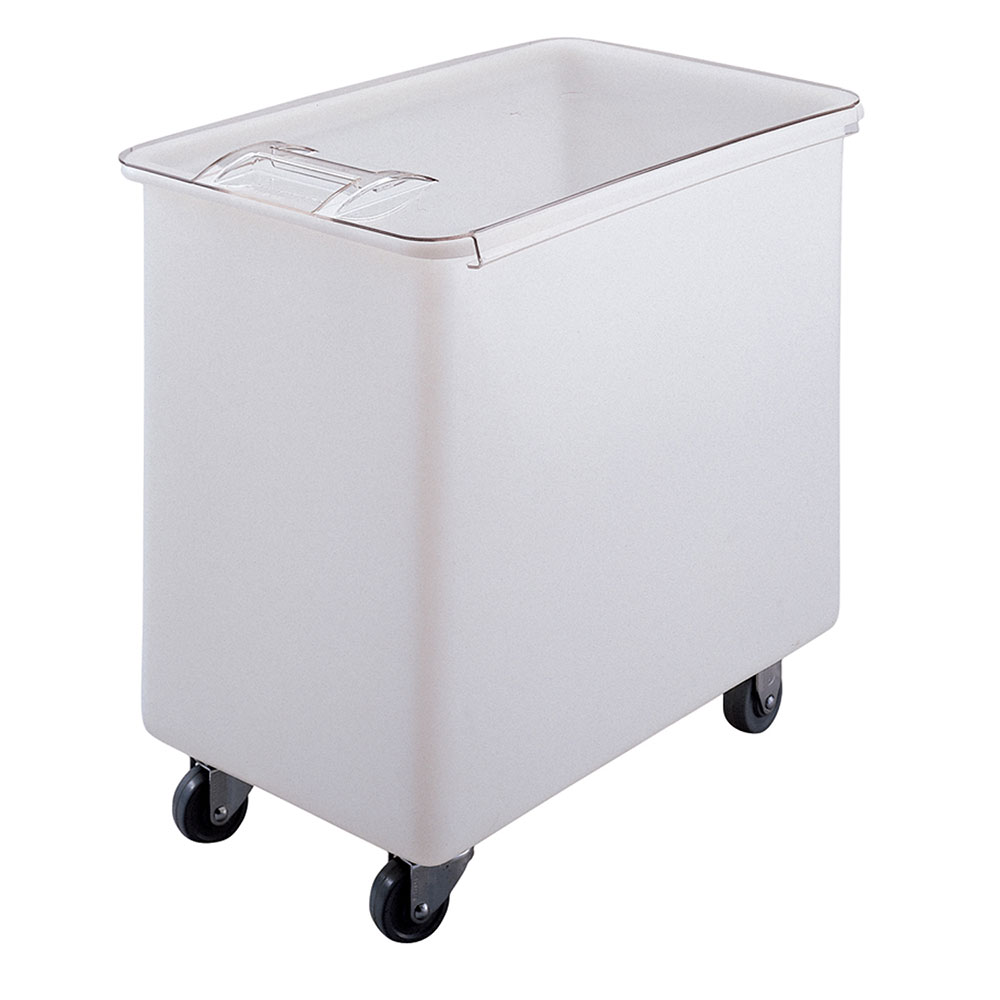 Cambro IB44148 42-1/2-gal Mobile Ingredient Bin - Sliding Cover, White