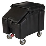 "Cambro ICS100L110 100-lb Ice Caddy - Sliding, Slant Top, 28.75"" H"