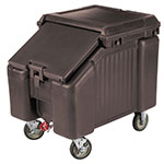 "Cambro ICS100L4S131 100-lb Ice Caddy - Sliding, Slant Top, 28.75"" H"