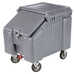 "Cambro ICS100L4S191 100-lb Ice Caddy - Sliding, Slant Top, 28.75"" H"