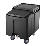 "Cambro ICS125L110 125-lb Ice Caddy - Sliding, Flat Top, 29.25"" H"